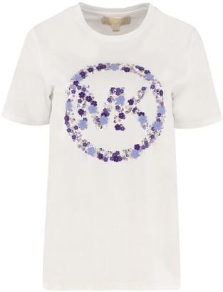MICHAEL Michael Kors Crew-neck Cotton T-shirt