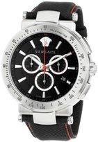 Versace Men's VFG040013 Mystique Sport 46mm Stainless Steel Chronograph Watch