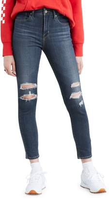Levi's 721 High-Rise Skinny Ankle Jeans