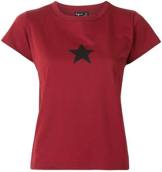 agnès b. star print T-shirt