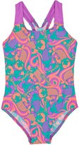 Speedo Essential Allover Print Swimsuit