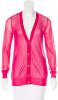 Maison Margiela Sheer V-Neck Cardigan w/ Tags