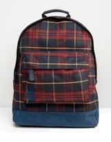 Mi-Pac Plaid Backpack