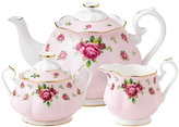 Royal Albert Old Country Roses Pink Vintage 3 Piece Tea Set
