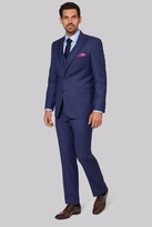 Savoy Taylors Guild Regular Fit Blue Birdseye Suit