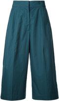 Jil Sander cropped trousers - women - Cotton - 36