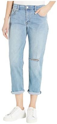 Lucky Brand Mid-Rise Sienna Slim Boyfriend Jeans in Sentimental Destruct (Sentimental Destruct) Women's Jeans
