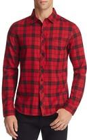 NATIVE YOUTH Breach Plaid Slim Fit Button Down Shirt