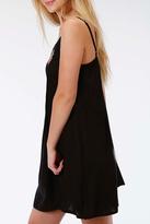 Roper Black Embroidered Dress