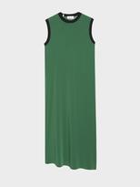 DKNY Slip Dress With Seaming Detail And Rib Trim