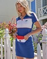 RVCA Junior's Hex Zip Front Polo Dress