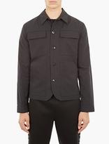 Helmut Lang Black Cotton Utility Jacket