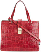 Twin-Set embossed tote