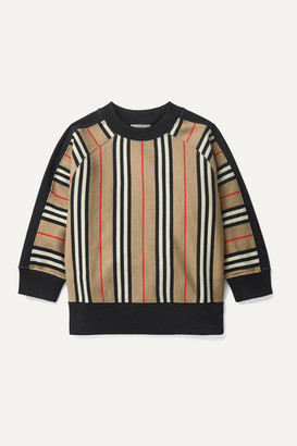 Burberry Ages 3 - 12 Striped Cotton-jersey Sweatshirt