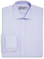Turnbull & Asser Overcheck Classic Fit Dress Shirt