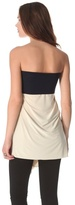 T-Bags Tbags los angeles Strapless Draped Top