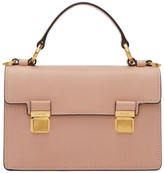 Miu Miu Pink Small Double Lock Bag