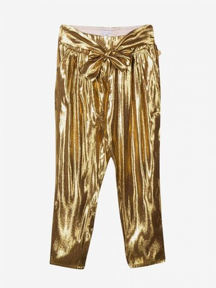 Little Marc Jacobs Laminated Trousers