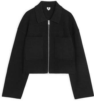 Arket Merino Cotton Box Jacket