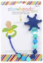 """Bed Bath & Beyond CHEWBEADS chewbeads® Sheriff """"Where's the Pacifier?"""" Clip"""