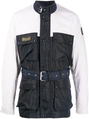 Belstaff Belted Multi-Pocket Jacket