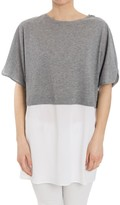 Fabiana Filippi Two Tone T-Shirt