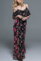 Band of Gypsies Cold Shoulder Maxi
