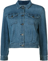 3x1 cropped denim jacket - women - Cotton/Spandex/Elastane - XS