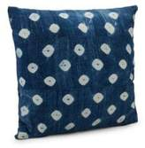 Saks Fifth Avenue Throw Pillows of Vintage Indigo Fabrics
