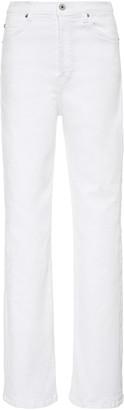 Eve Denim Juliette Mid-Rise Straight-Leg Jeans