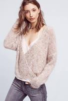 Mes Demoiselles Teramina Wrap-Front Sweater
