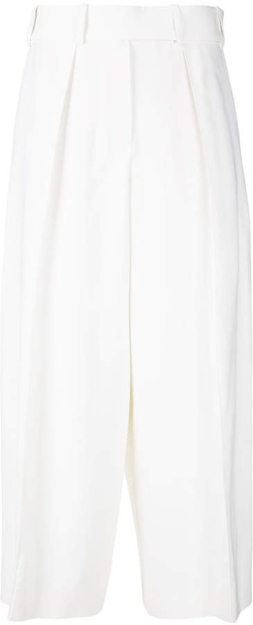 Alexandre Vauthier wide cropped trousers