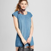 Merona Women's Denim T-Shirt Dress Medium Indigo