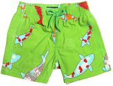 Vilebrequin Carpe Fishes Print Nylon Swim Shorts