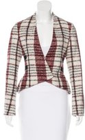 Derek Lam 10 Crosby Wool Fitted Jacket