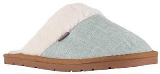 Lamo Womens Aria Scuff Canvas Closed Toe Slip On Slippers
