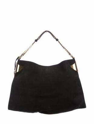 Gucci Medium 1970 Nubuck Bag Black