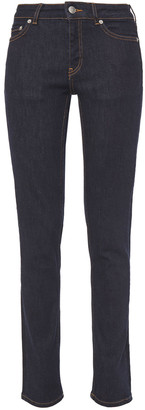 Ganni Mid-rise Slim-leg Jeans