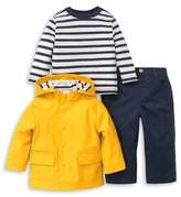 Little Me Baby Boy's Three-Piece Yellow Jacket, Tee and Pants Set