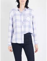 Rails Hunter checked woven shirt
