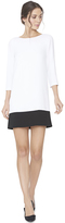 Alice + Olivia Aspen Paneled Hem Boatneck Tunic Dress