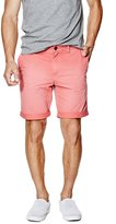 GUESS Summery Flat-Front Classic-Fit Shorts