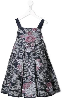 Marchesa Notte Mini Jennifer jacquard dress