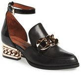 Jeffrey Campbell Women's 'Walden' Ankle Strap Loafer