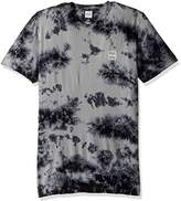 HUF Men's Box Logo Crystal Wash Tee