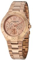 "Stuhrling Original Women's 558.03 ""Symphony Regent"" Rose Gold-Tone Stainless Steel Watch"