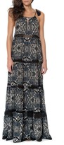 Red Carter Women's Cover-Up Maxi Dress