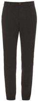 Giorgio Armani Slim-fit Textured Trousers