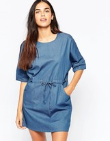 Goldie Symetry Denim Dress