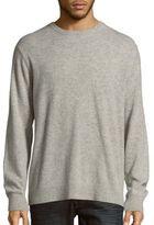 Michael Kors Heathered Long Sleeve Pullover